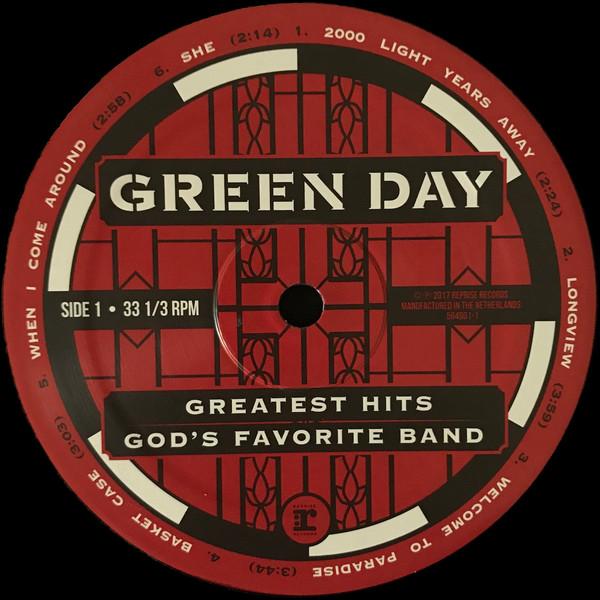 Interior del recopilatorio de Green Day