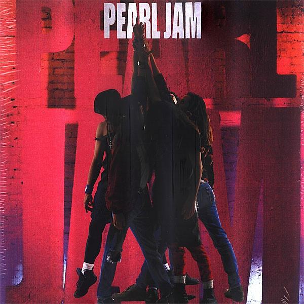 Portada del disco Ten de Pearl Jam