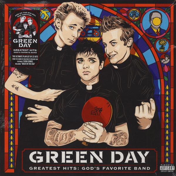 Portada del recopilatorio de Green Day