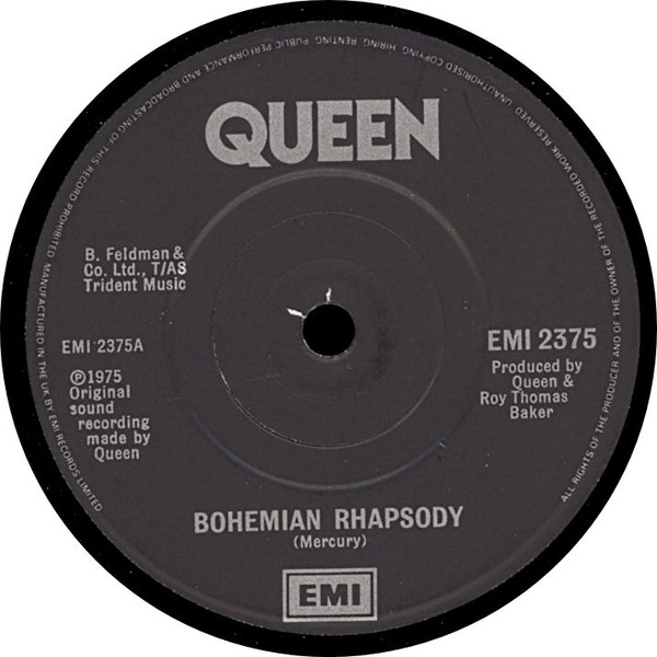 Interior del single de Queen