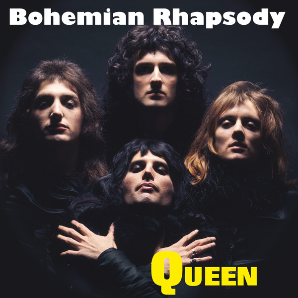 Uno de los formatos de single de Bohemian Rhapsody