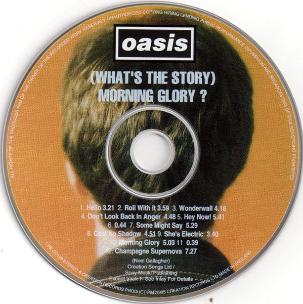 CD de What's the story, de Oasis