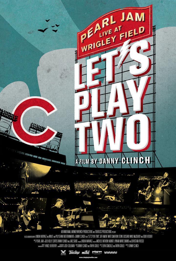 portada del DVD de Let's play 2 de Pearl Jam