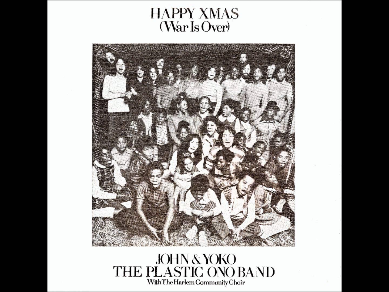 Carátula de Happy Xmas de John Lennon