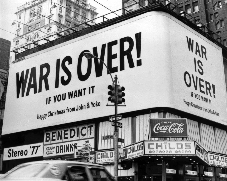 Navidades con John Lennon