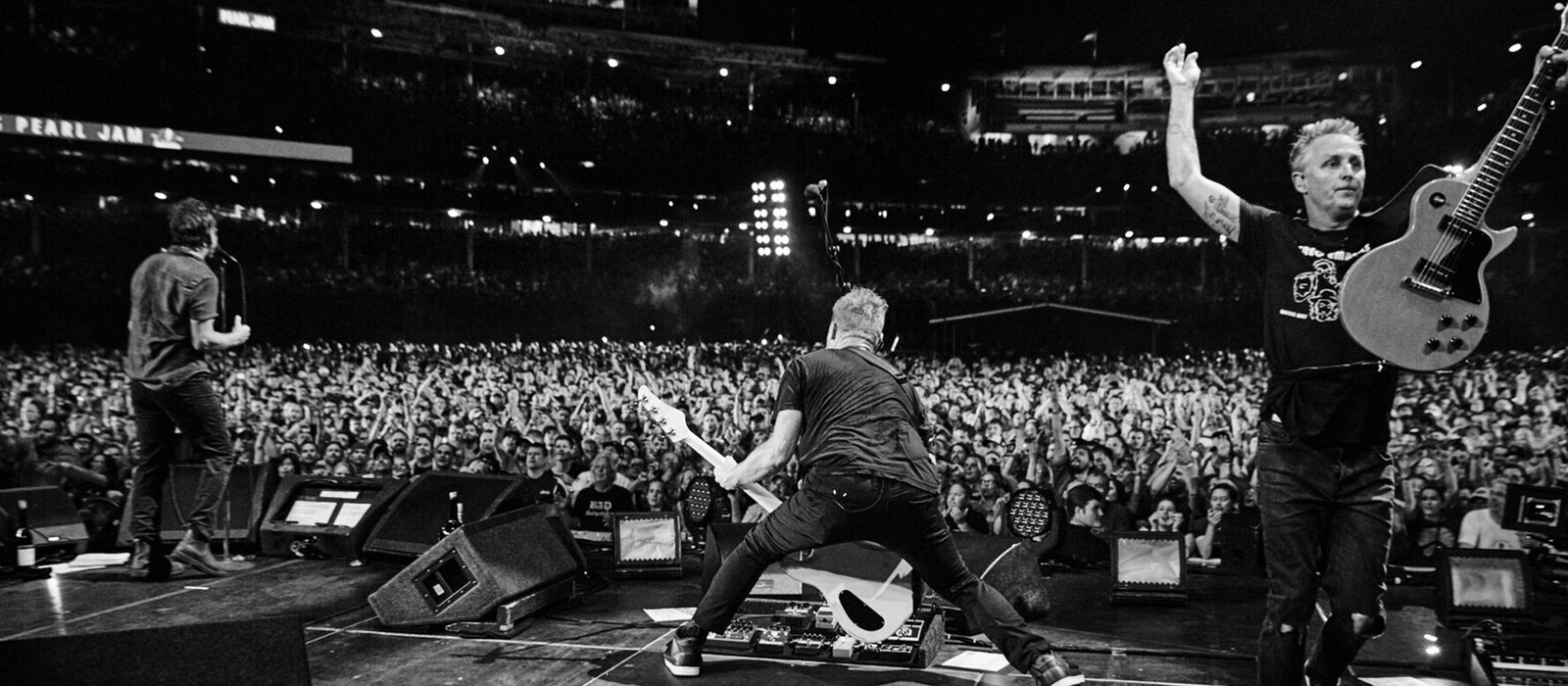 Pearl Jam, los maestros del directo atacan de nuevo
