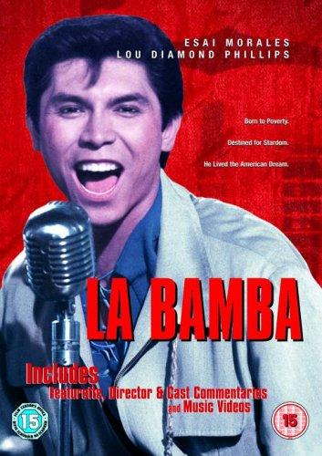 Carátula de la película La Bamba