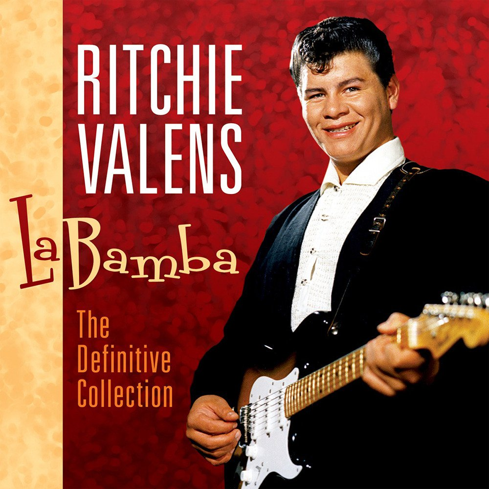 Carátula de un recopilatorio titulado La Bamba de Ritchie Valens