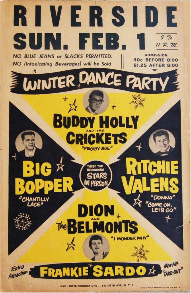 Cartel de la Winter Dance Party