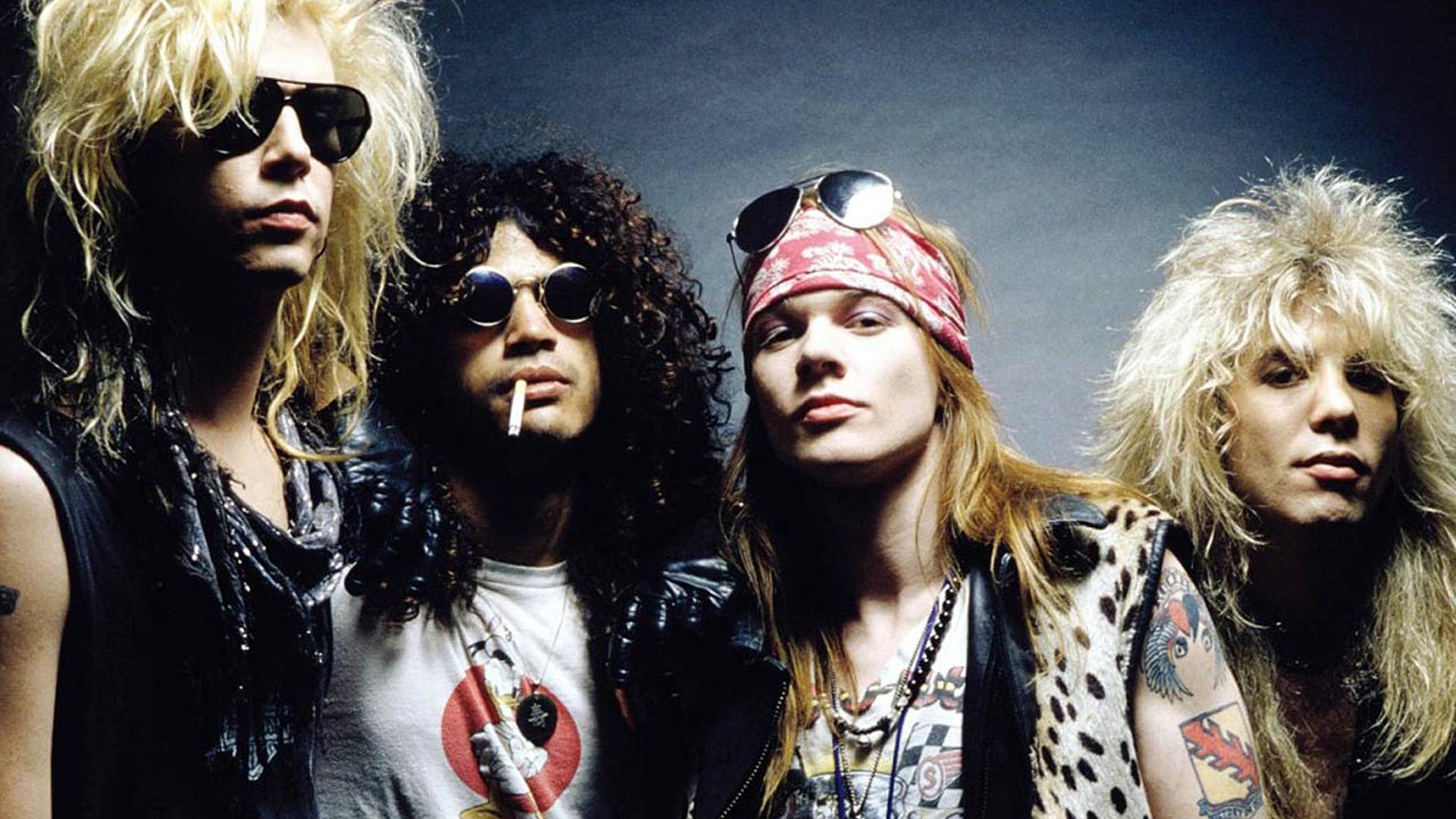 Guns N' Roses, en 1992