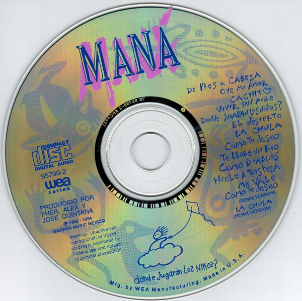 Disco de Maná