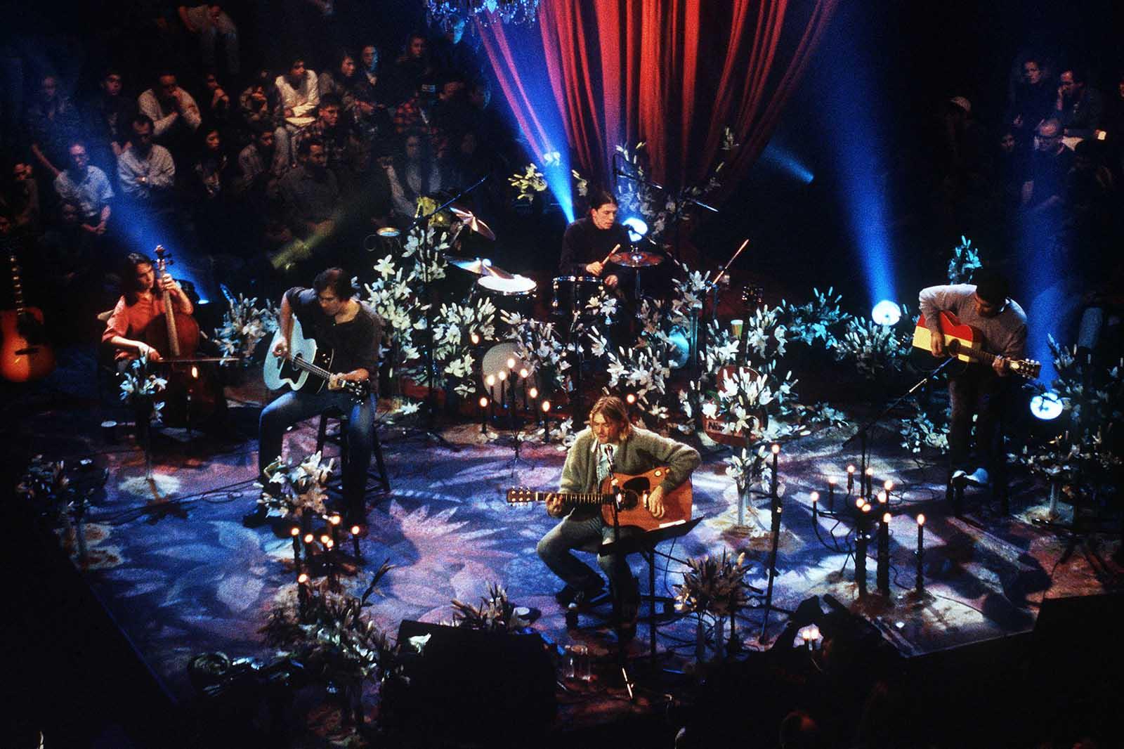 """Unplugged in New York. Cuando Nirvana puso de moda los desenchufados<span class=""""wtr-time-wrap after-title""""><span class=""""wtr-time-number"""">14</span> minutos de lectura</span>"""