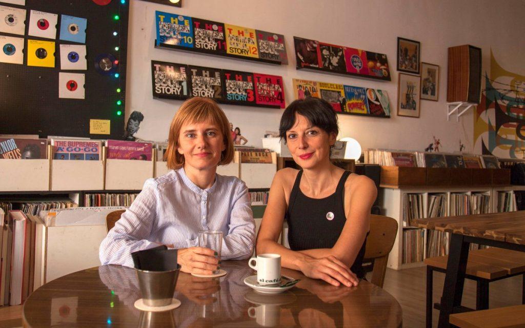 Susana Monteagudo y Marta Colomer