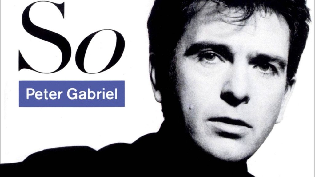 So, disco de Peter Gabriel