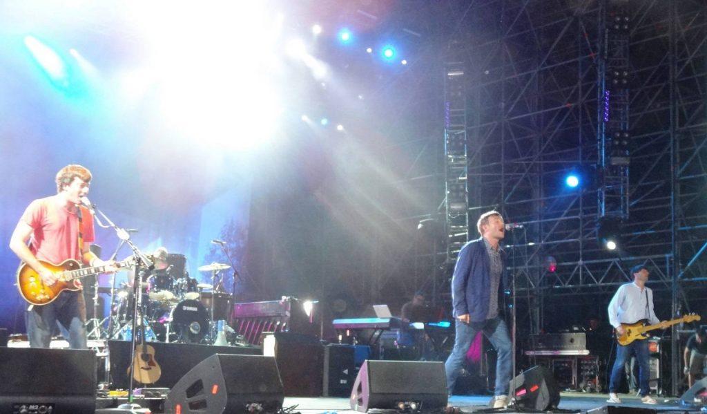 Concierto de Blur. Foto: Σπάρτακος