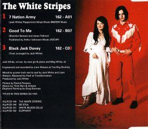 Interior sencillo White Stripes