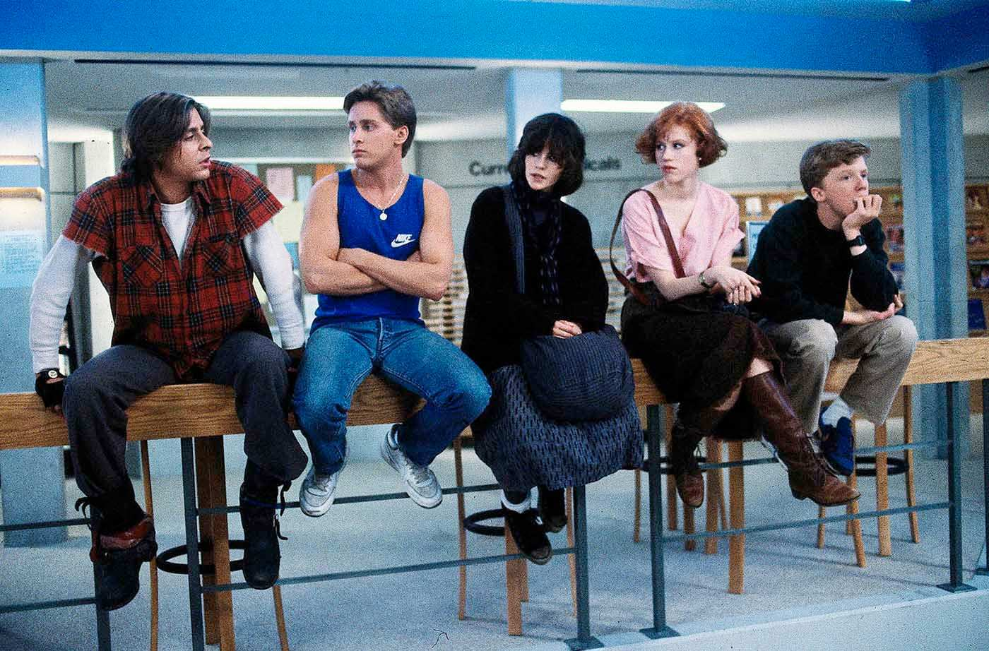 El Club de los 5. The breakfast Club