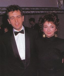 Peter Gabriel y Kate Bush