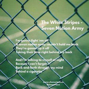 Tip de instagram 7 nation army