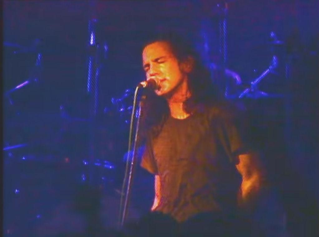 EXCLUSIVA: Imágenes inéditas del primer concierto de Pearl Jam en España