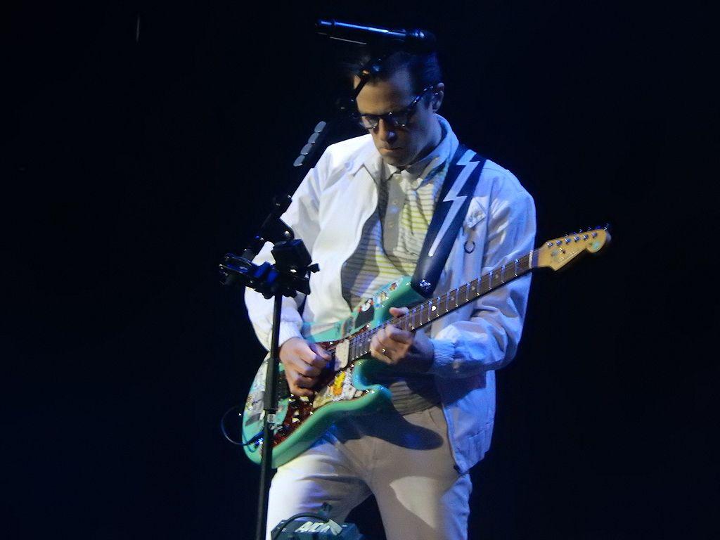 El guitarrista de Weezer