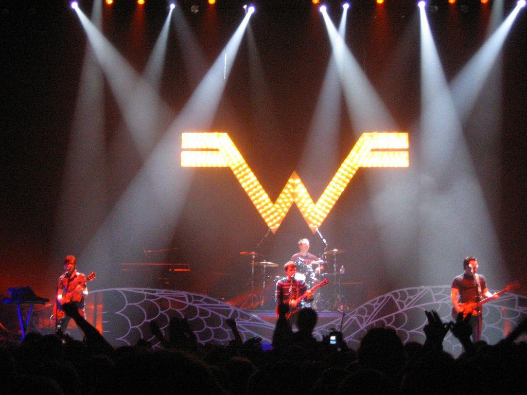 Concierto en 2005 de Weezer