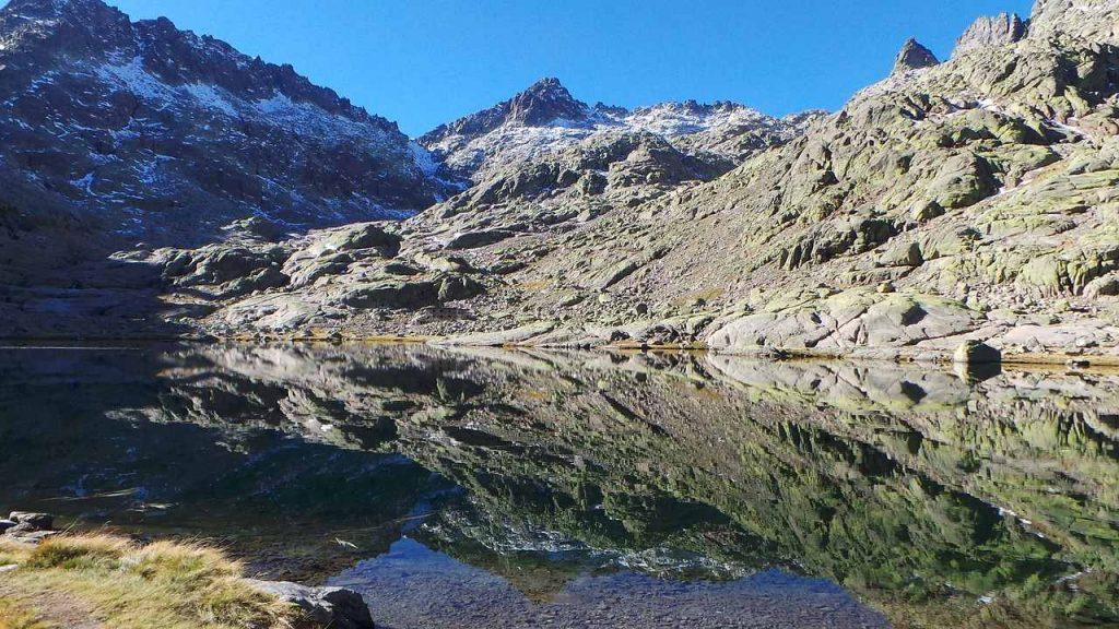 Laguna en Gredos, donde se celebra Músicos en la Naturaleza