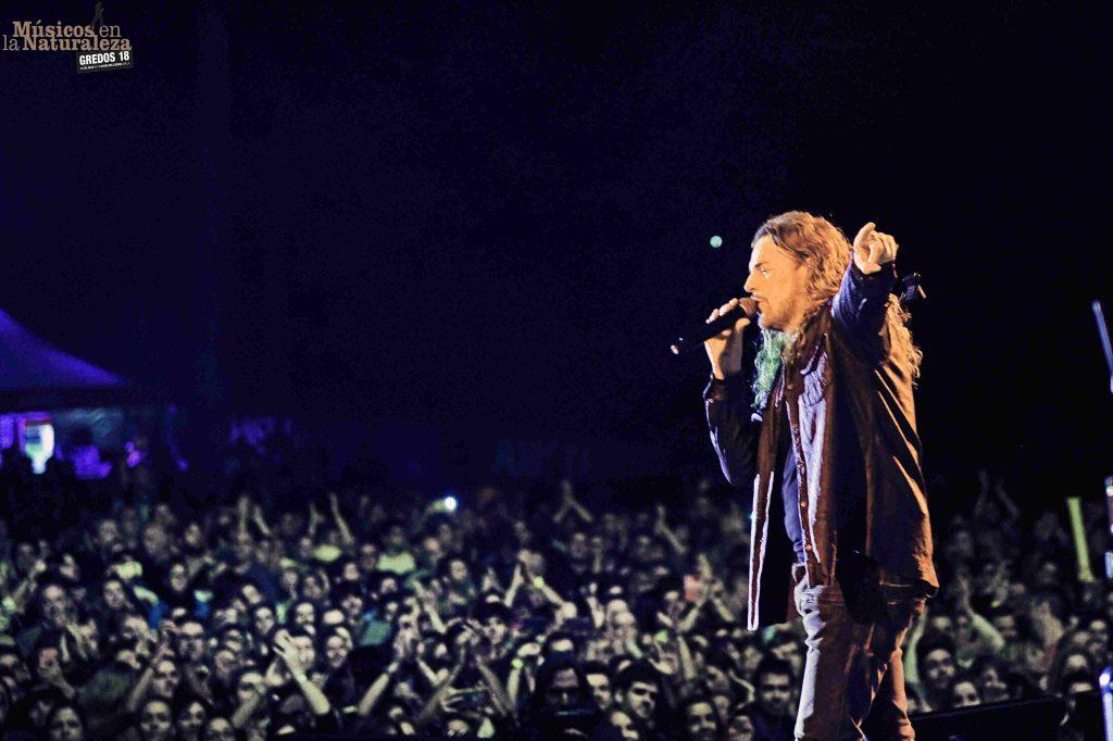 Fher Olvera, durante el concierto ©