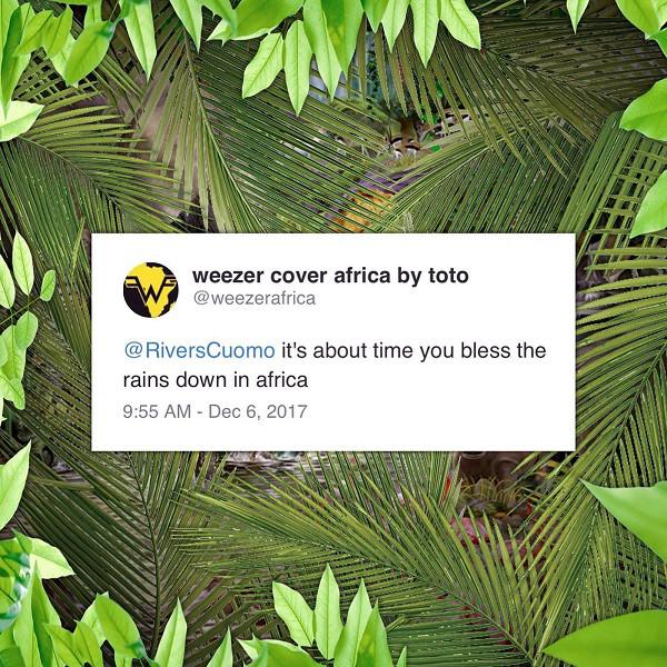 El mensaje que inició esto... Weezer cover africa by toto