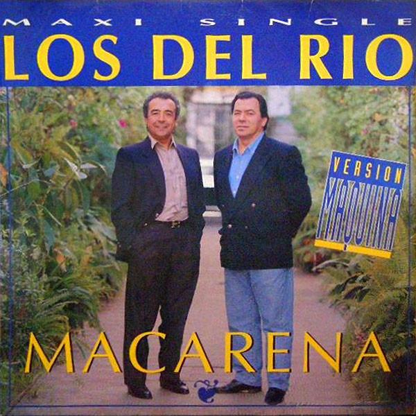 Portada del sencillo Macarena de los Del Río