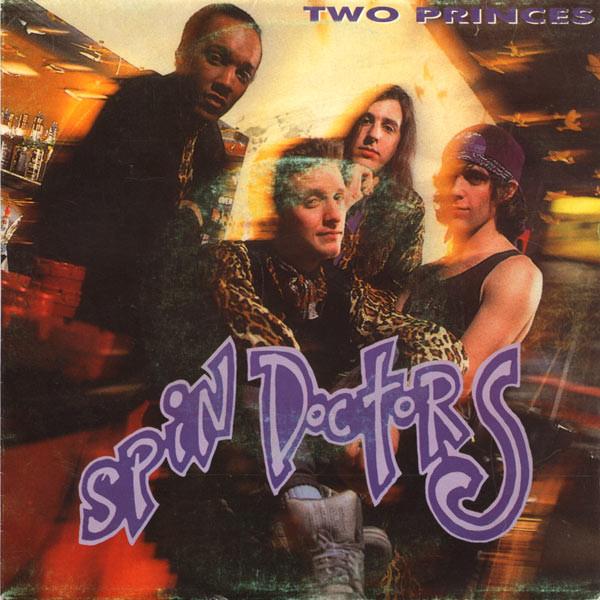 Versión española de la caratula del sencillo Two Princes, de Spin Doctors, en su versión española