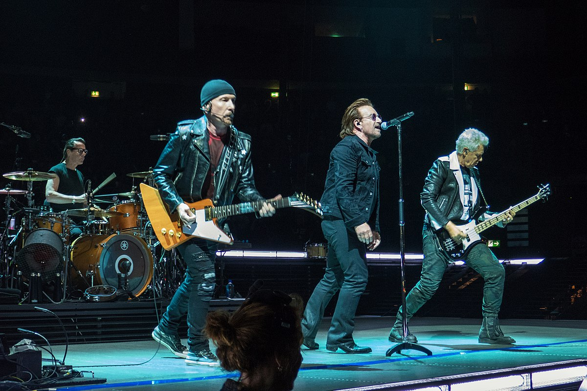 El grupo, en el concierto de Berlín del pasado mes de agosto