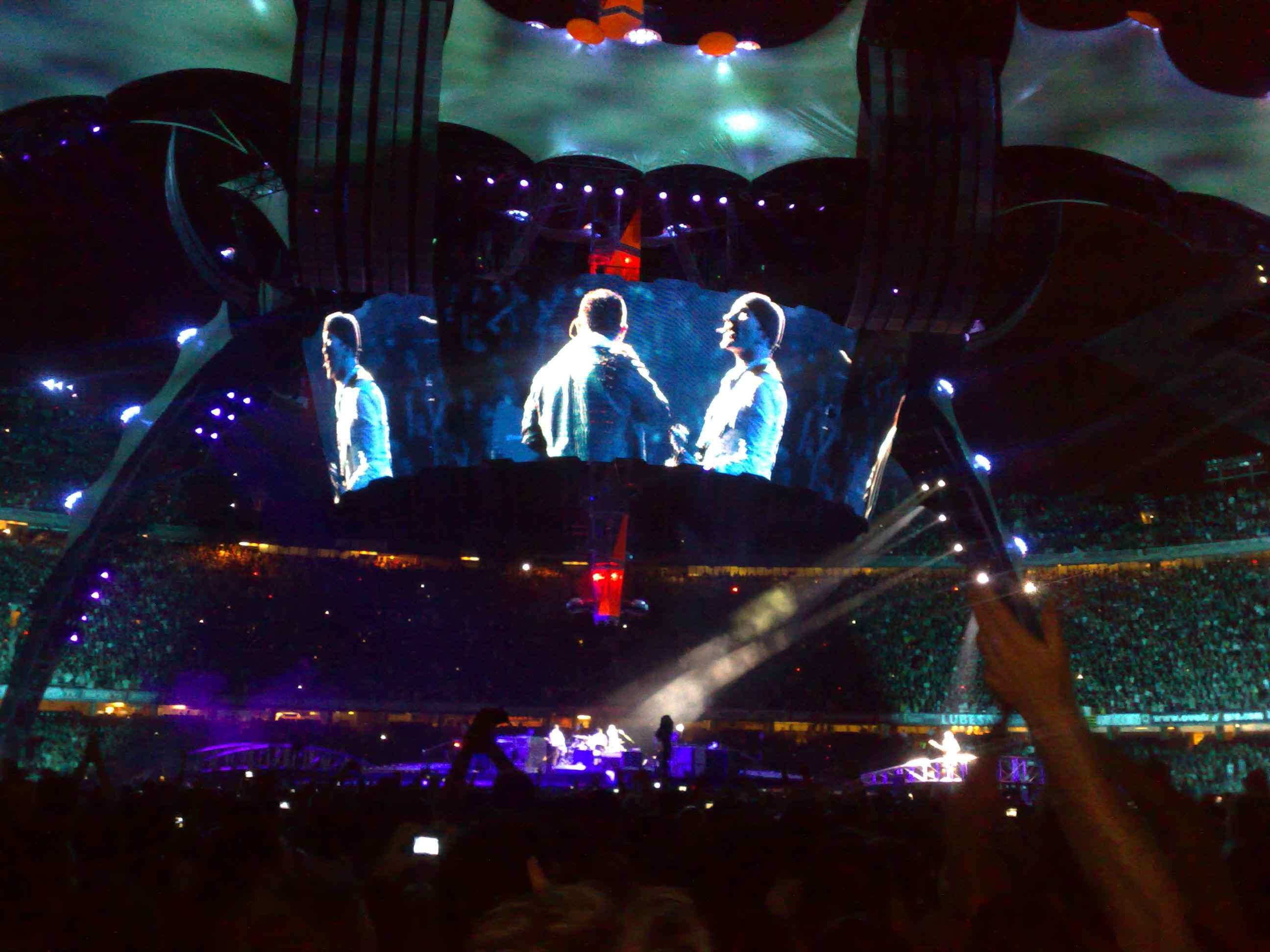 Concierto con el que se abrió la gira europea de 2009