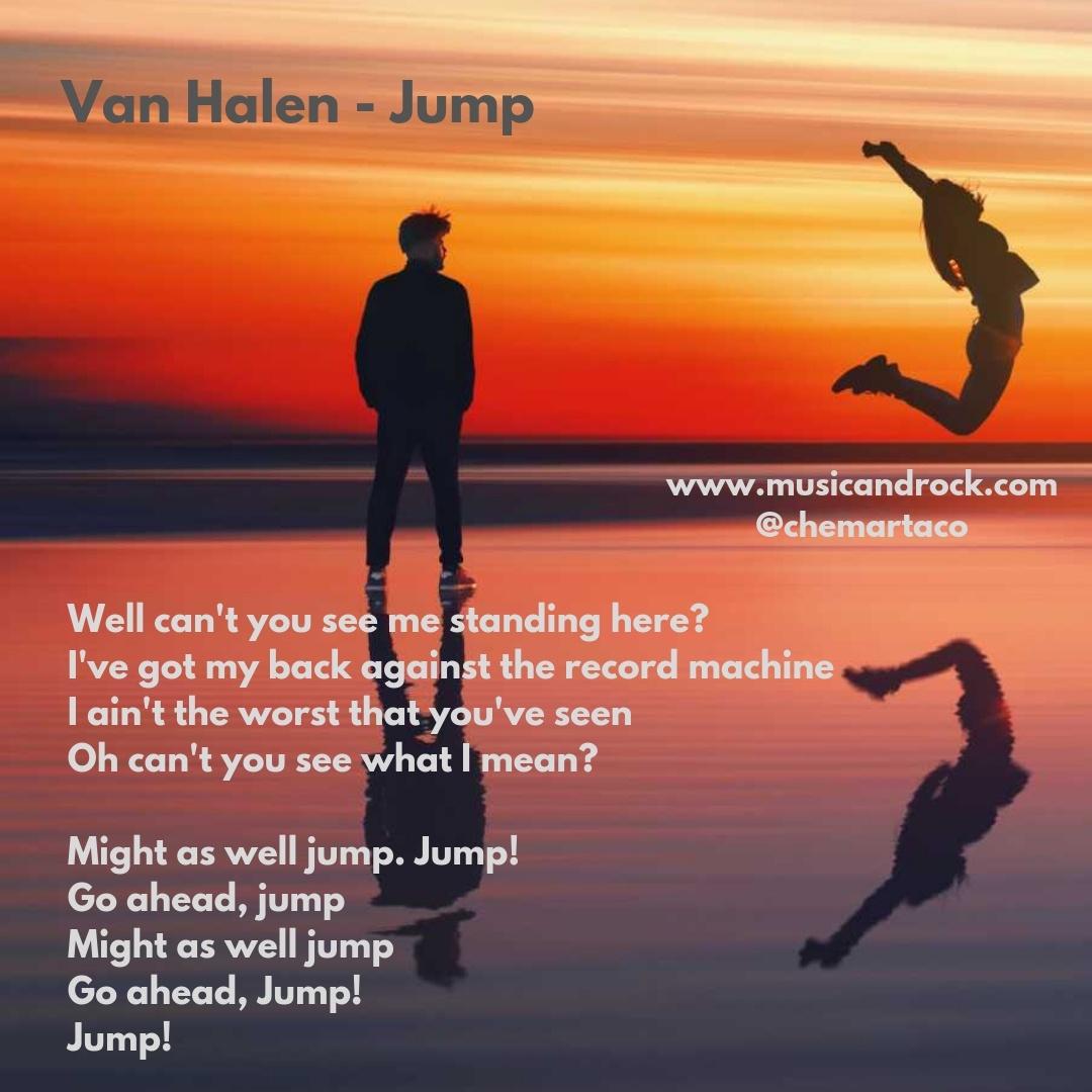 Tip de la letra de Jump de Van Halen