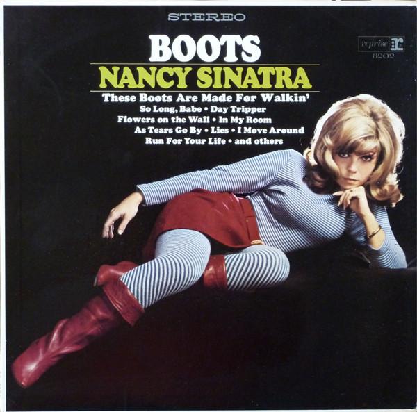 El disco Boots de Nancy Sinatra