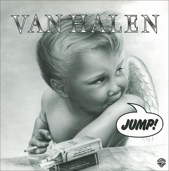 Carátula del single Jump, de Van Halen