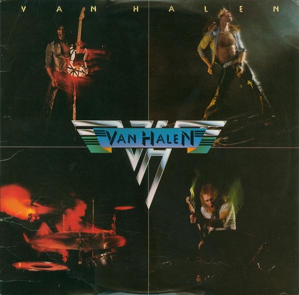 Portada del disco que catapultó a la fama a Van Halen, su homónimo