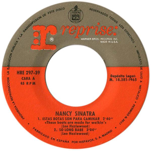 Versión en español del disco
