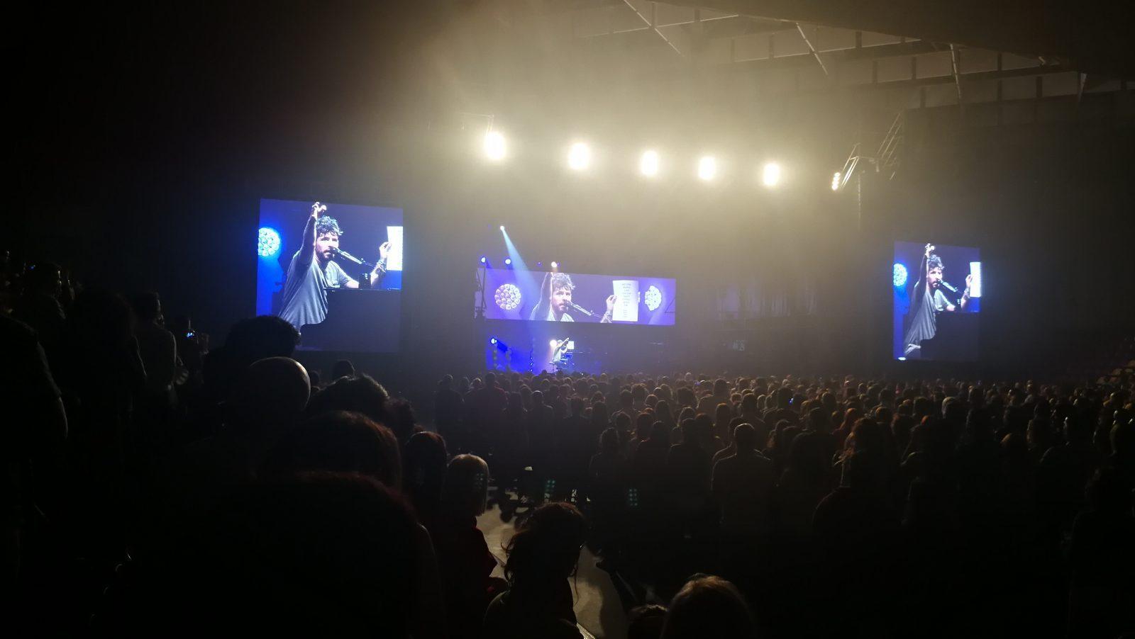 Crónica del concierto de Pablo López en Valladolid