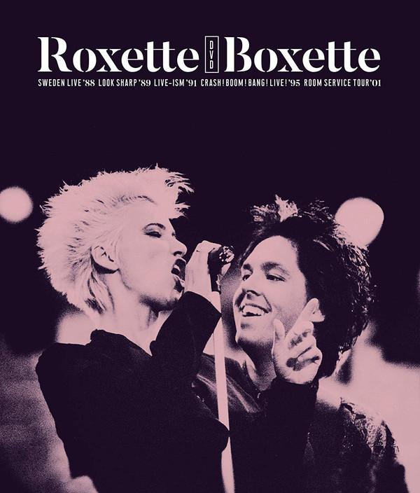 Portada del Boxette de Roxette