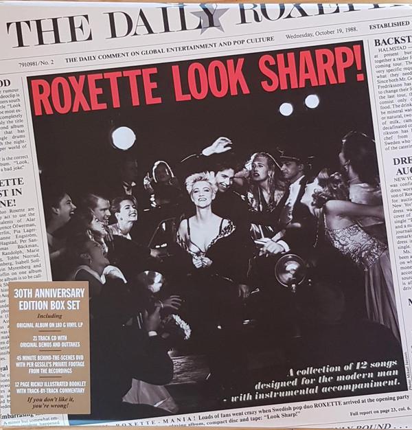 "Look Sharp! de Roxette devuelve a la banda al número 1 en Suecia tres décadas después<span class=""wtr-time-wrap block after-title""><span class=""wtr-time-number"">12</span> minutos de lectura</span>"