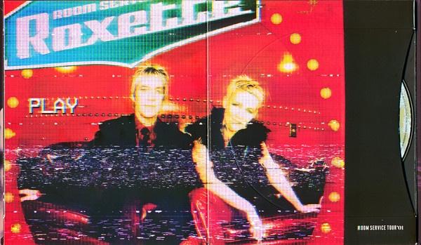 Carátula del directo Room Service de Roxette