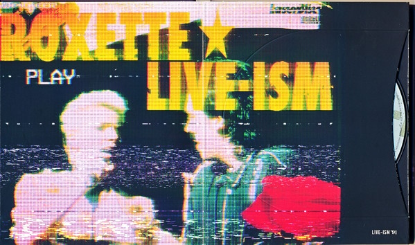 Carátula del directo Roxette Live-ism