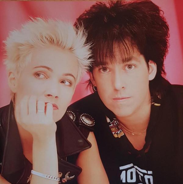El dúo sueco Roxette, a finales de los 80