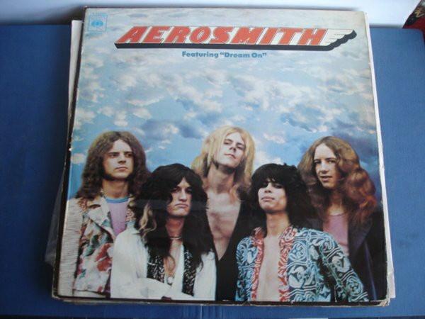 Reedición del disco Aerosmith en España