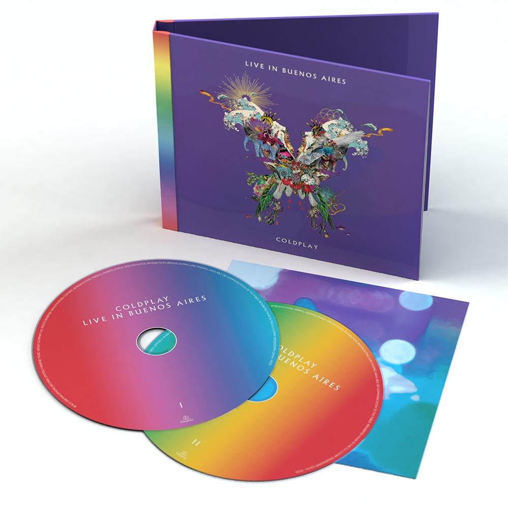 Detalles del disco en directo de Coldplay