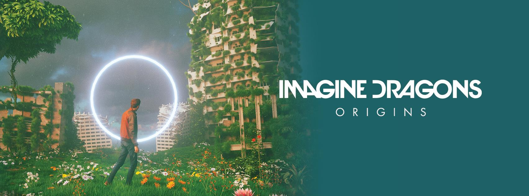 Cartel de Origins, el nuevo disco de Imagine Dragons