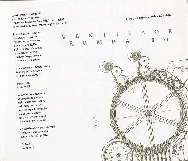 Letra de Ventilaor R-80