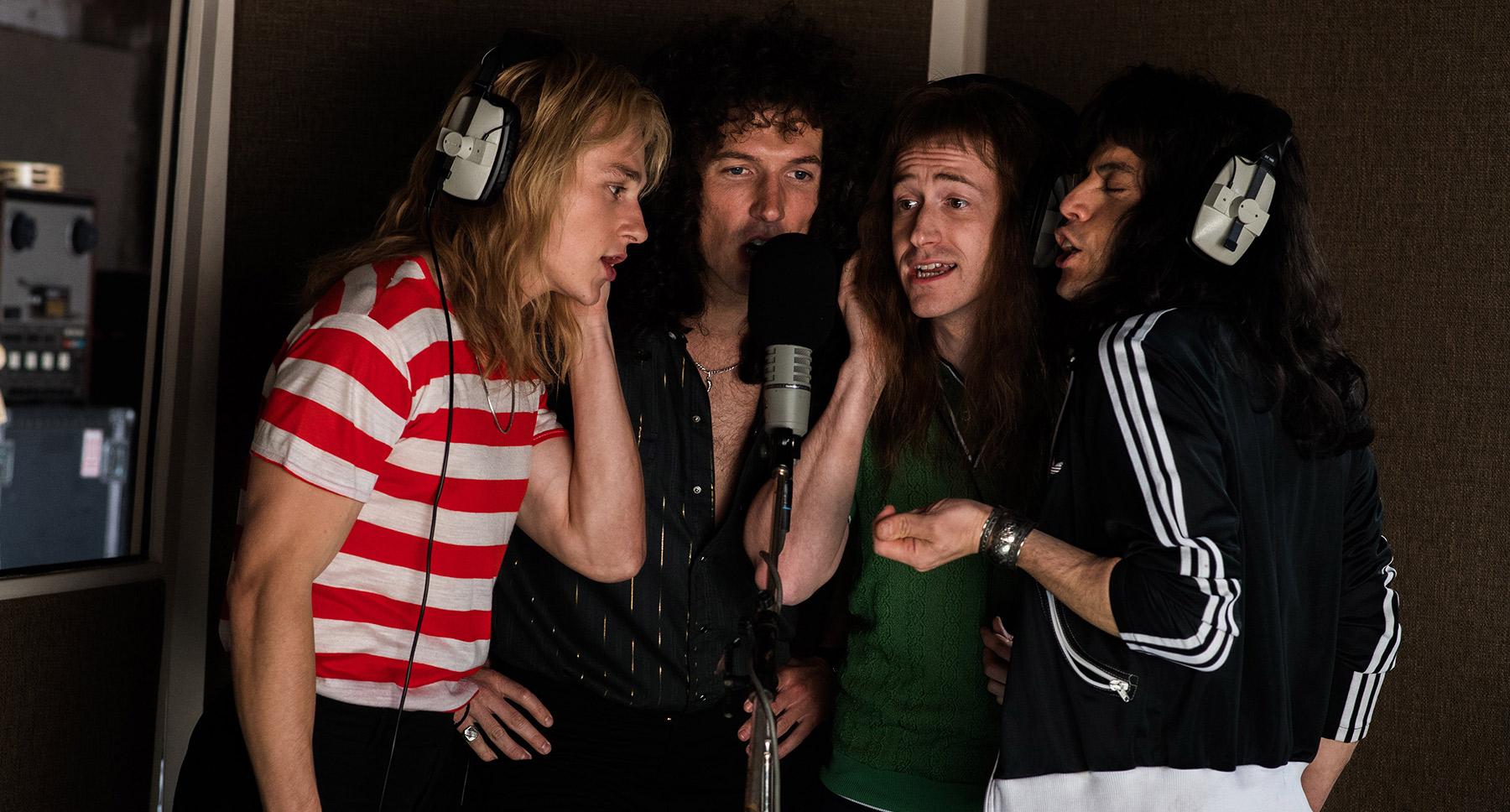 La banda, Queen, en la ficción
