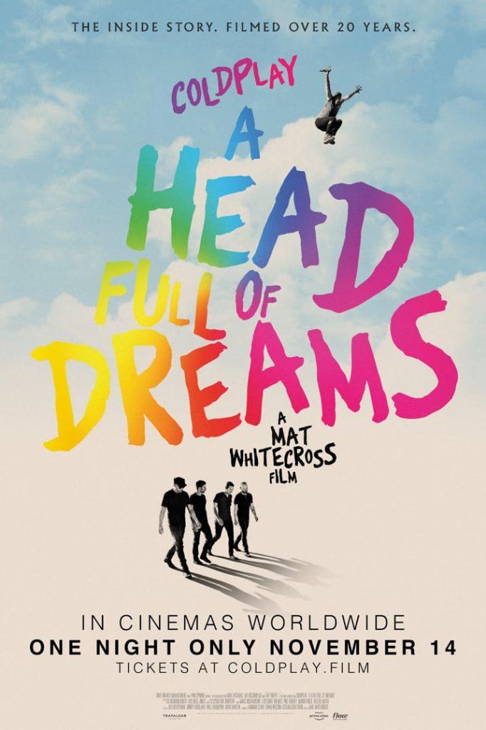 Portada del documental sobre Coldplay
